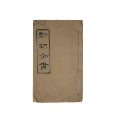New Testament written in Chinese; 48/83