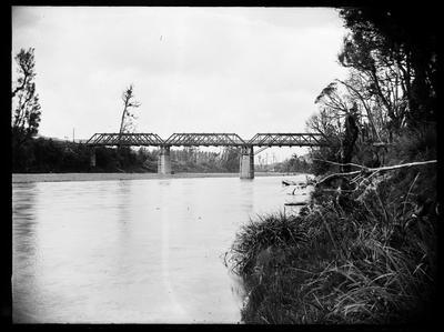 Bridge across Manawatu River