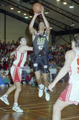 National Men's Basketball League Game, Centennial Hall, Napier