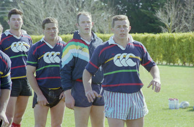 Canterbury Rugby Team Members, Napier