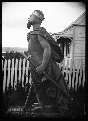 Figurehead from the Northumberland; Duncan, Russell