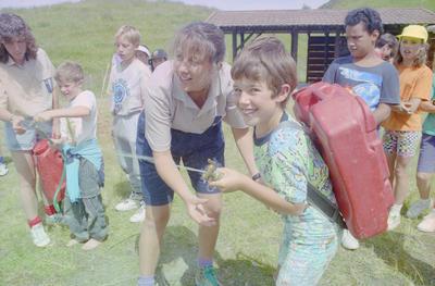 Cameron Gray, aged 8 of Rissington