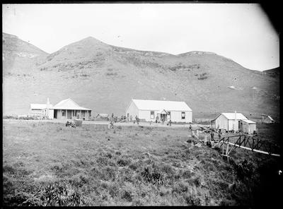 A store and billiard room at Moawhango