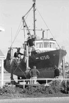 Ross Bates and his trawler Regent