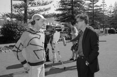 Rod Barnett and Terry Boland, Marine Parade Gardens, Napier