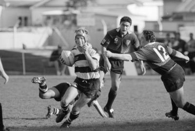 Rugby Game, Hawke's Bay versus Canterbury, McLean Park, Napier