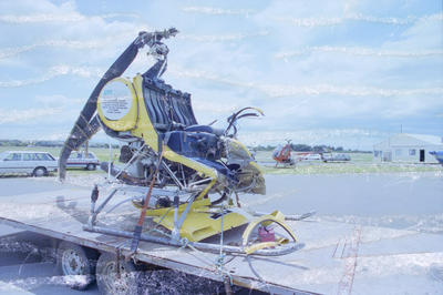 Helicopter crash at Ngaruroro River, Bridge Pā