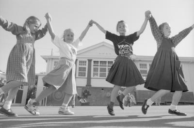 Folk Dancers, Central School, Napier