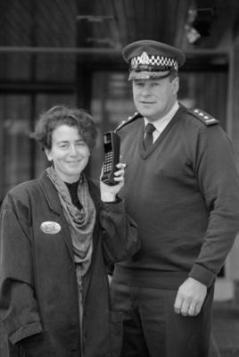 Detective Inspector Ross Pinkham and Claire Dowdall, Dove Hawke's Bay
