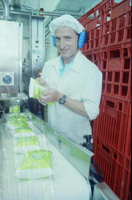 Hawke's Bay Milk Corporation staff member Peter Jarvis