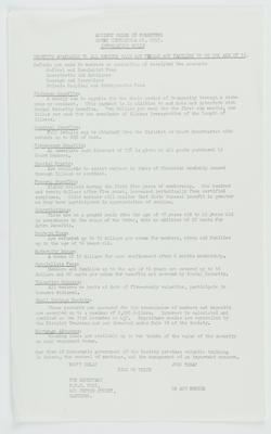 AOF Court Heretaunga No. 6553 Information Guide; Ancient Order of Foresters (Hawke's Bay District); 2016/16/40