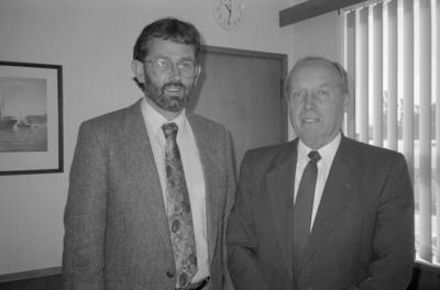 Mike Purcell and Tony McNair