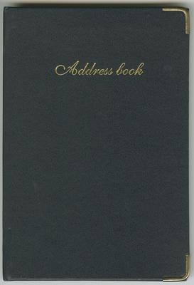 Address Book, Richmond Napier Centre Country Women's Institute