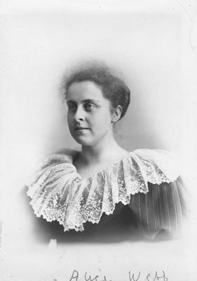 Alice Webb; Hall, Edwin