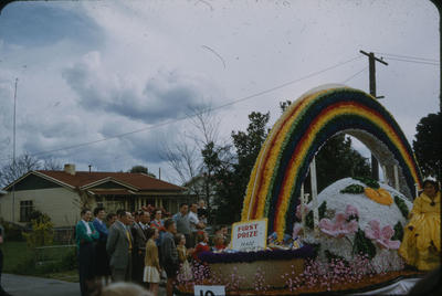 Hastings Blossom Festival, Wattie's float