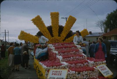 Hastings Blossom Festival, Prize winning float