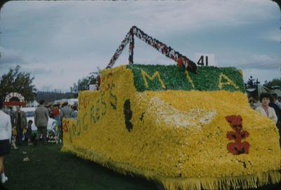 Hastings Blossom Festival, M.I.A float