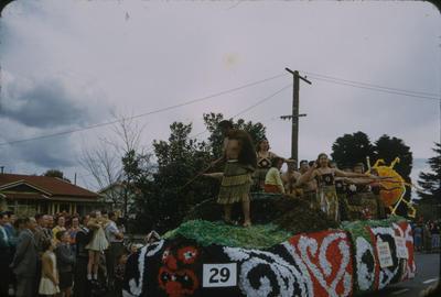 Hastings Blossom Festival, Māori cultural group float