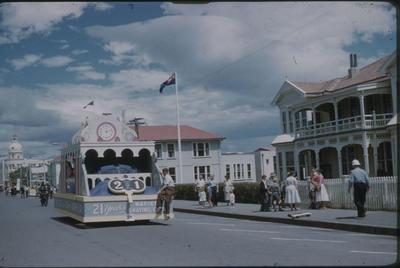 Hawke's Bay Centennial Parade, Napier Skating Club float