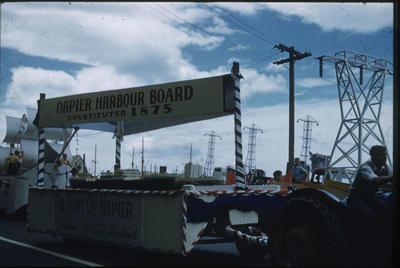 Hawke's Bay Centennial Parade, Napier Harbour Board float