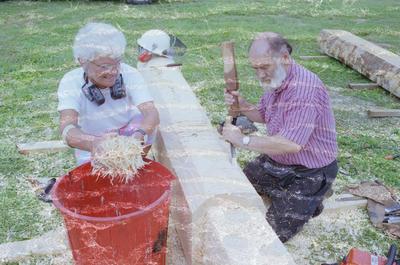 John Bevan Ford and Gaeleen Morley, Hawke's Bay Polytechnic Pine Symposium