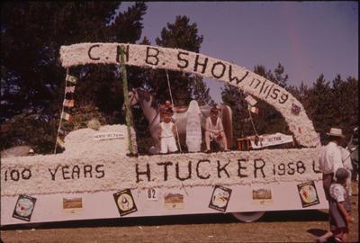 Hastings Blossom Festival, H Tucker CHB Show float