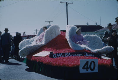 Hastings Blossom Festival, Apple Blossom Time float
