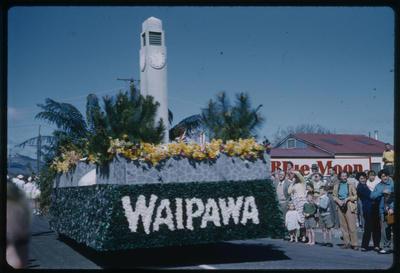 Hastings Blossom Festival, Waipawa float