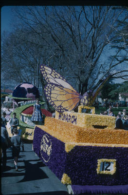Hastings Blossom Festival, Monarch Motors float