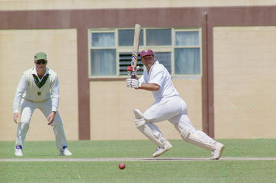 Shell Trophy Cricket Players, McLean Park, Napier