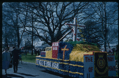 Hastings Blossom Festival, Salvation Army float