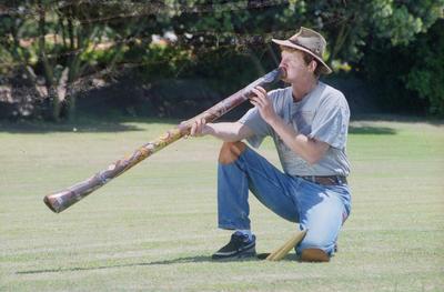Didgeridoo Player, Robert Rykes