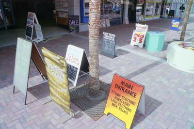 Mall Signs, Mid City Plaza, Emerson Street, Napier