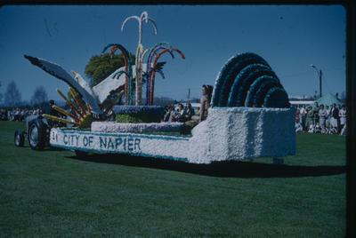 Hastings Blossom Festival, City of Napier float