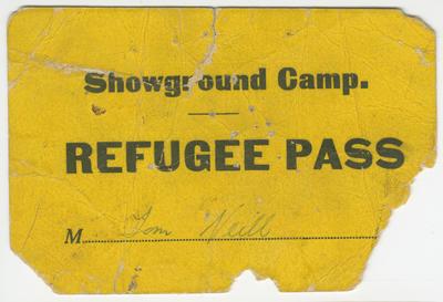 Refugee Pass, Tom Neill