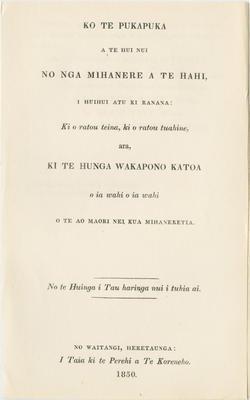 Collection of Hawke's Bay Museums Trust, Ruawharo Tā-ū-rangi, 2017/17/1