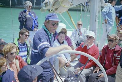 Grant Dalton, New Zealand Endeavour Visit, Napier; Daily Telegraph