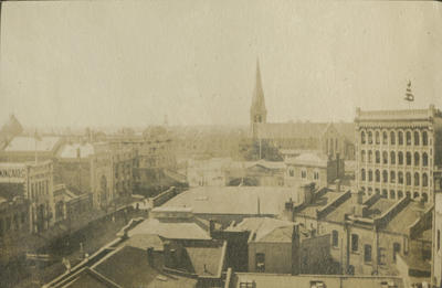 View of Colombo Street, Christchurch