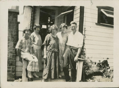 Gordon and Nora Brebner and others