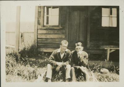 Gordon Brebner and son