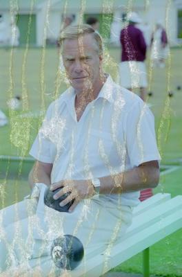 Lawn Bowls Player, Graeme Wagg