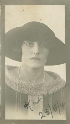 Portrait of Kathleen