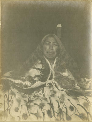 Unidentified Māori woman; Poll, Wallace; 2017/8/6