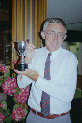 Annual Hawke's Bay Sportsman of the Year function included Ken Parker