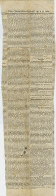 Newspaper cutting, The ex-vicar of Stockingford, Anthony Spurr Webb; The Observer