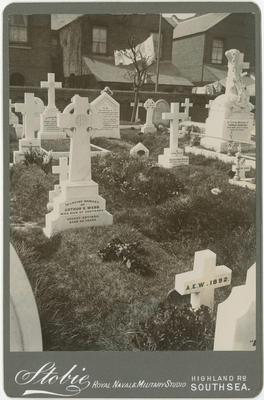 Arthur Webb's grave; Stobie