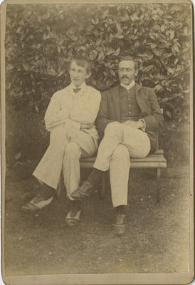 Arthur Webb and pupil