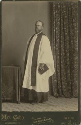 Reverend Anthony Spur Webb; Cobb, Harriet Sophia; 91/46/90