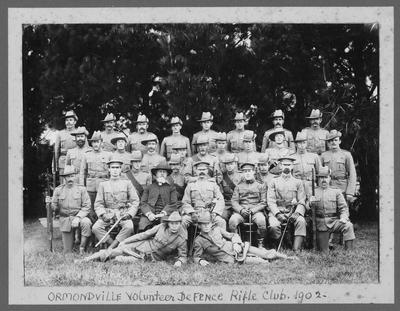 Union Rifle Volunteers; Mariboe, Charles Henry
