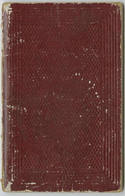 Notebook, sale of furniture, the property of the Rev A S Webb; Webb, Anthony Spur